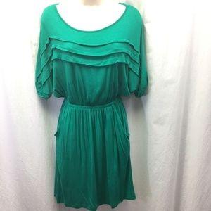 LUSH Green Dress Size Medium